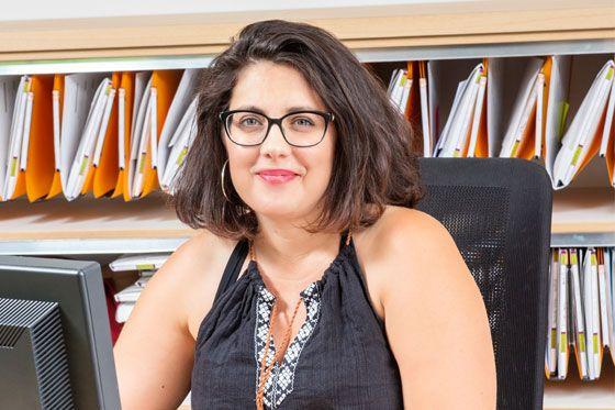 Aude Strazzeri, Service Transaction Agence immobilière Delphine Teillaud