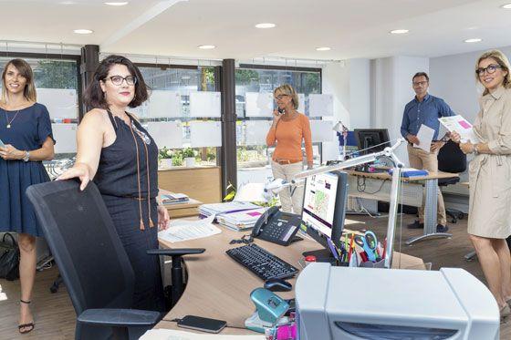 Equipe transaction, agence immobilière Delphine Teillaud Grenoble